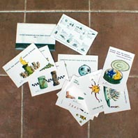 賞品のカード集です。