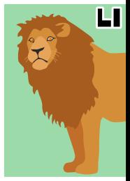 アタマカード ライオン