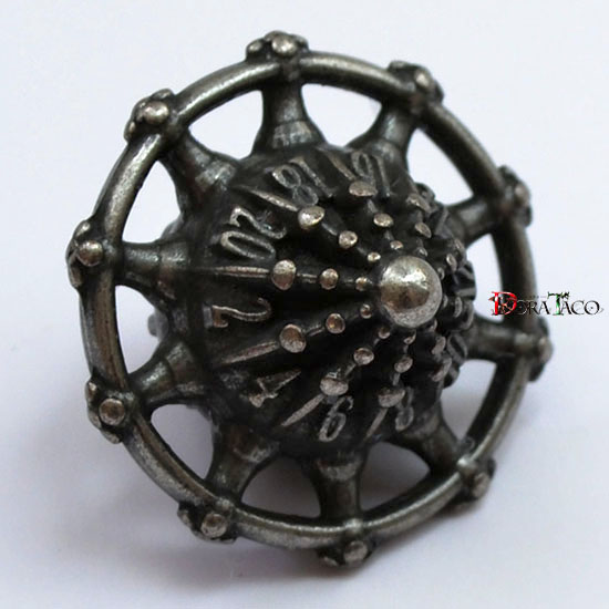 アイアンダイ スペースシー 20面サイコロダークアイアン 特殊形状サイコロ ダイス