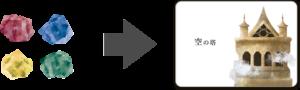 タテルトの塔カード交換