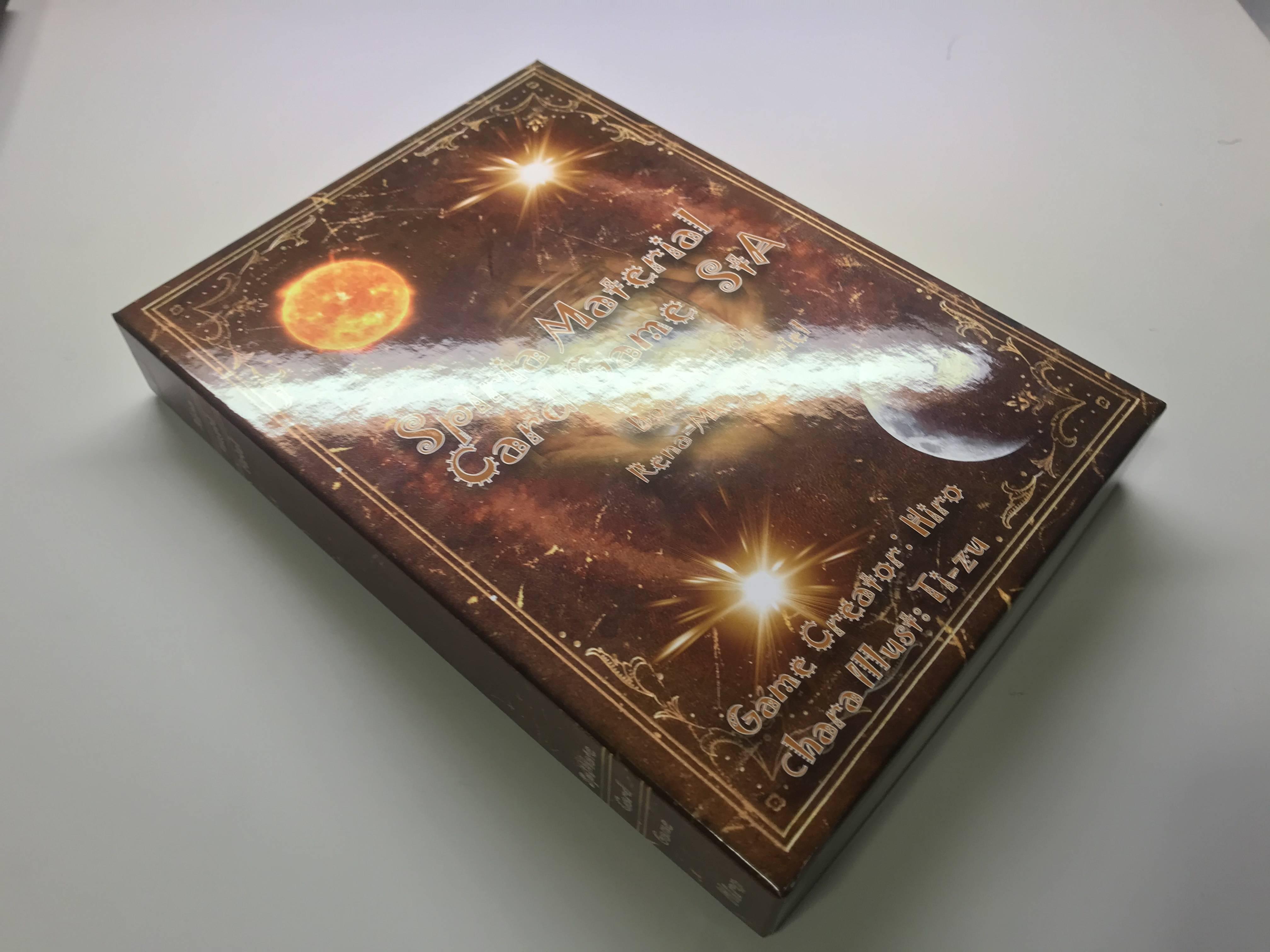 2人用構築型対戦ゲーム「スピマテカードゲームStA」Amazonで販売中