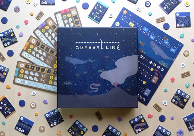 『ABYSSAL LINE』箱の写真