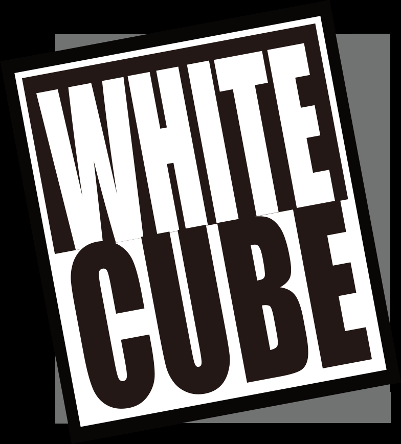 ホワイトキューブ画像