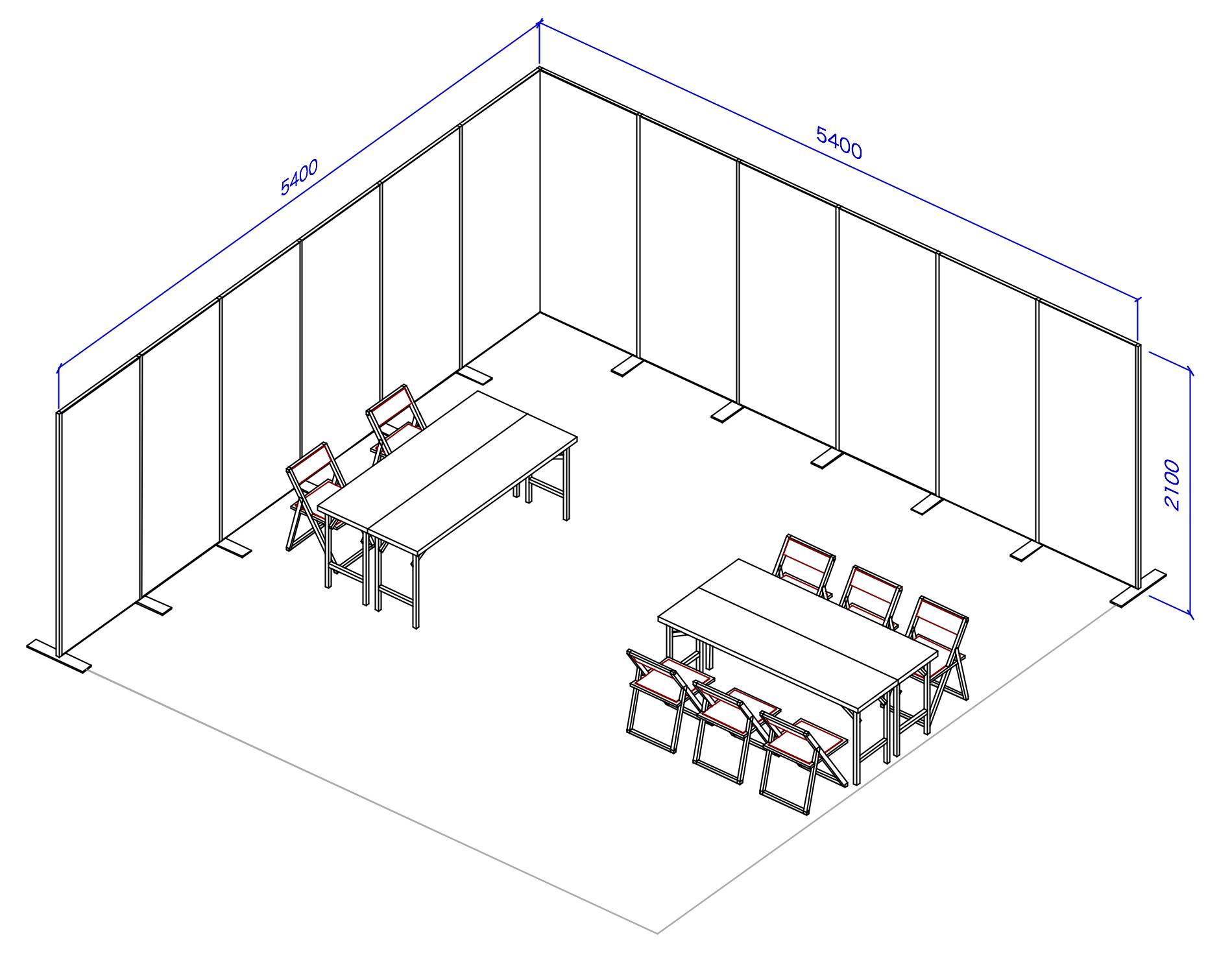 D1 販売スペース1 試遊スペース1