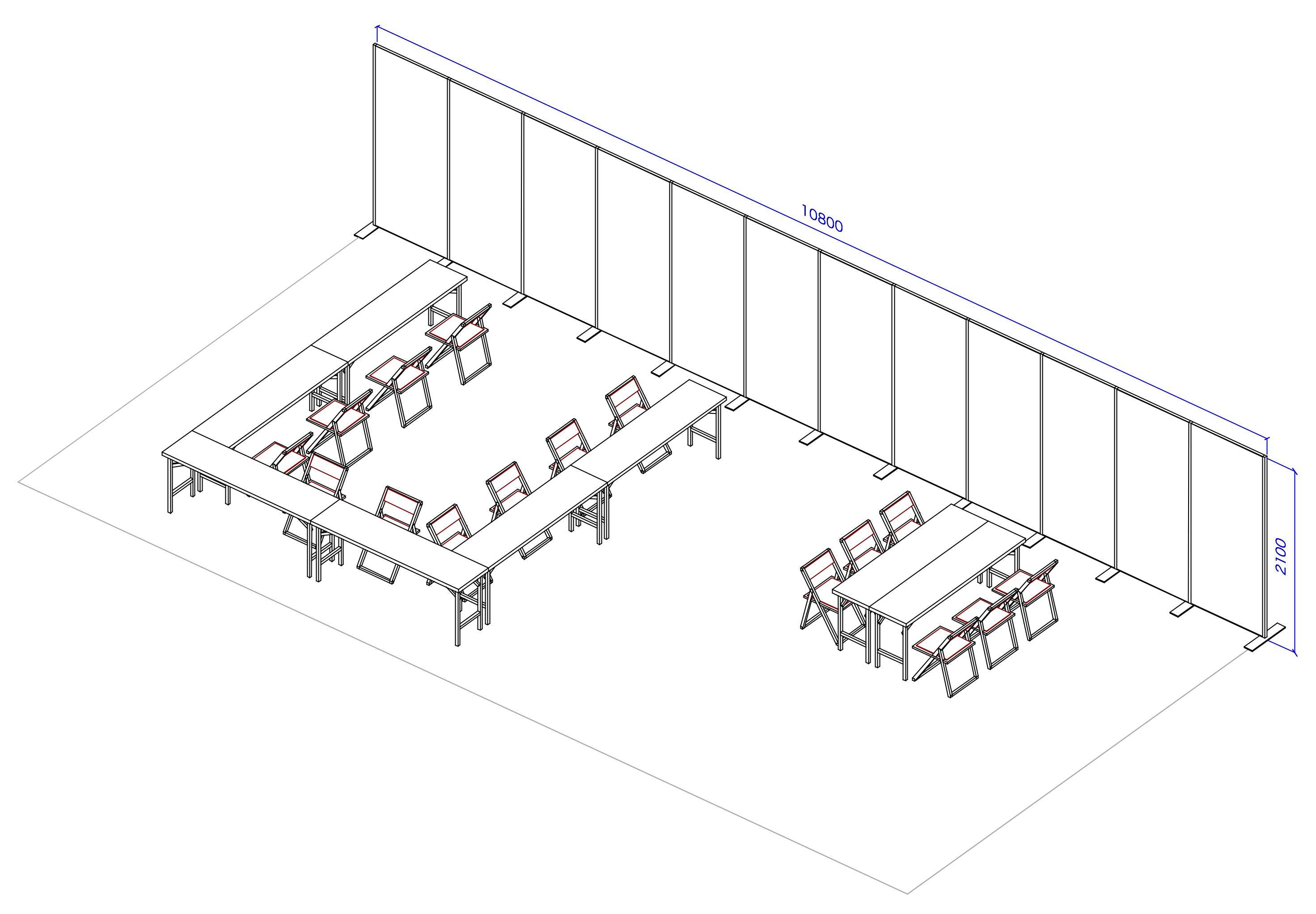D2 販売スペース6 試遊スペース1