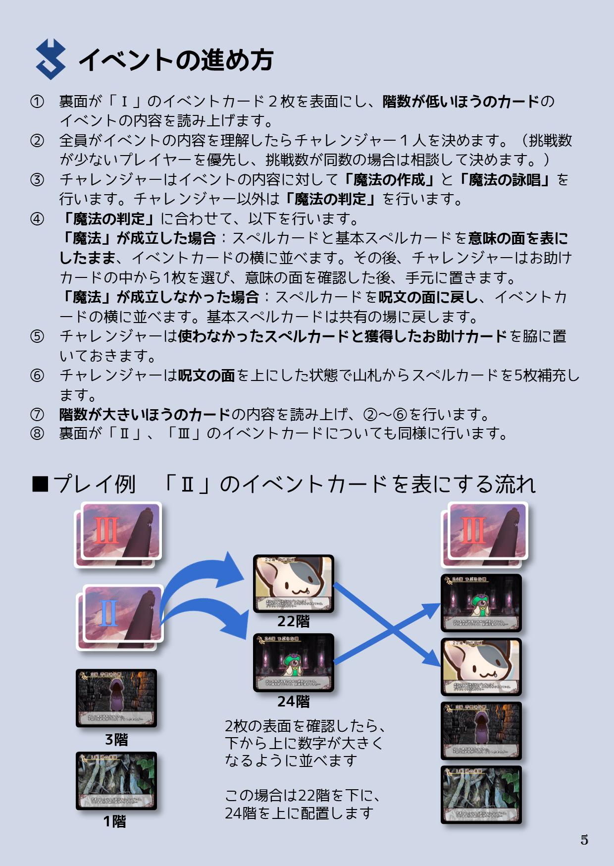 説明書5P