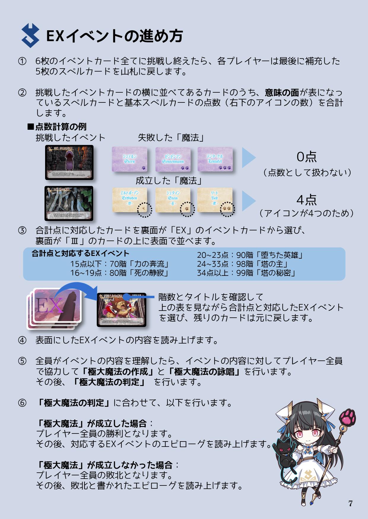 説明書7P