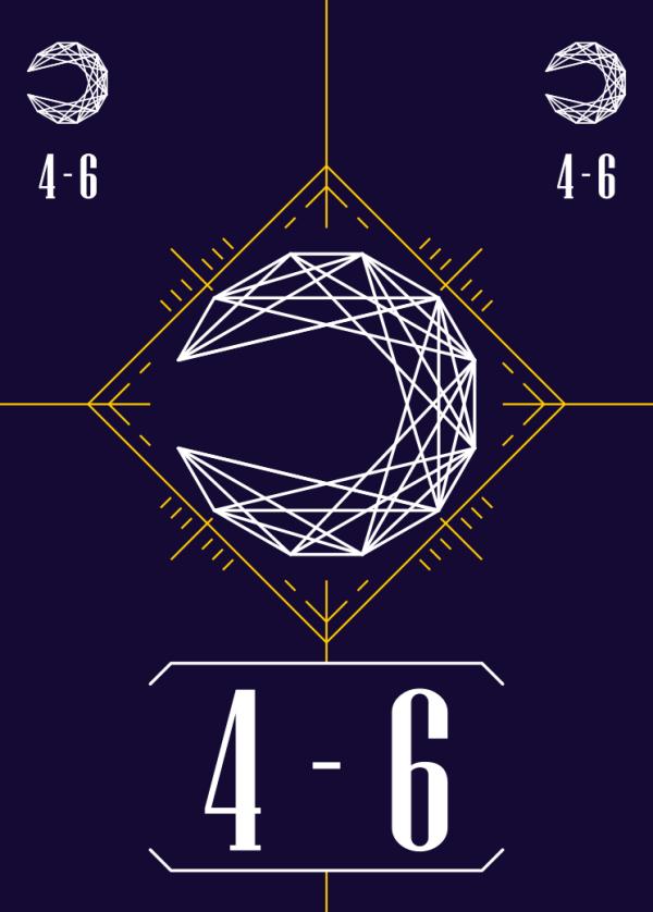 スートカード:月の4~6