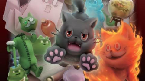 [ウルタールの化け猫のぼくたちがVRを奪い合って呪われた屋敷から脱出するゲーム]