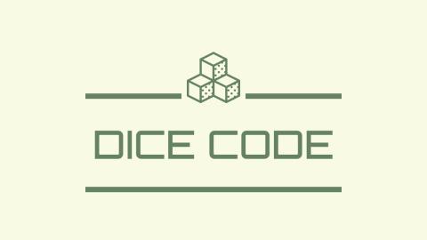 [DICE CODE(ダイスコード)]