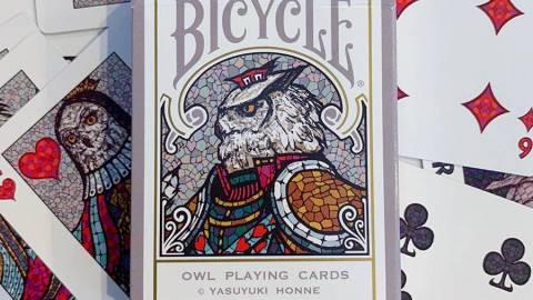 [BICYCLE OWL PLAYING CARDS(オリジナルトランプ)]