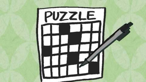 [クロスワードパズルを「解かない」]