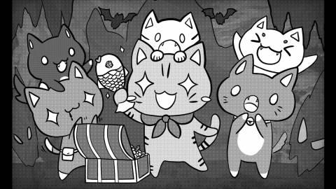 [猫を増やせ! リアルタイムデッキ構築型パズルゲーム!]
