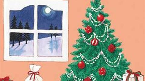 [ふわふわのクリスマス]