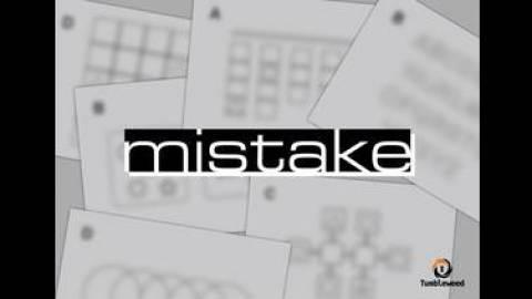 [mistake]
