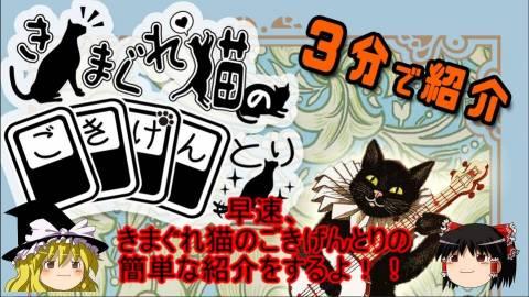 [【エ04】3分紹介動画 きまぐれ猫のごきげんとり【AriAru】]